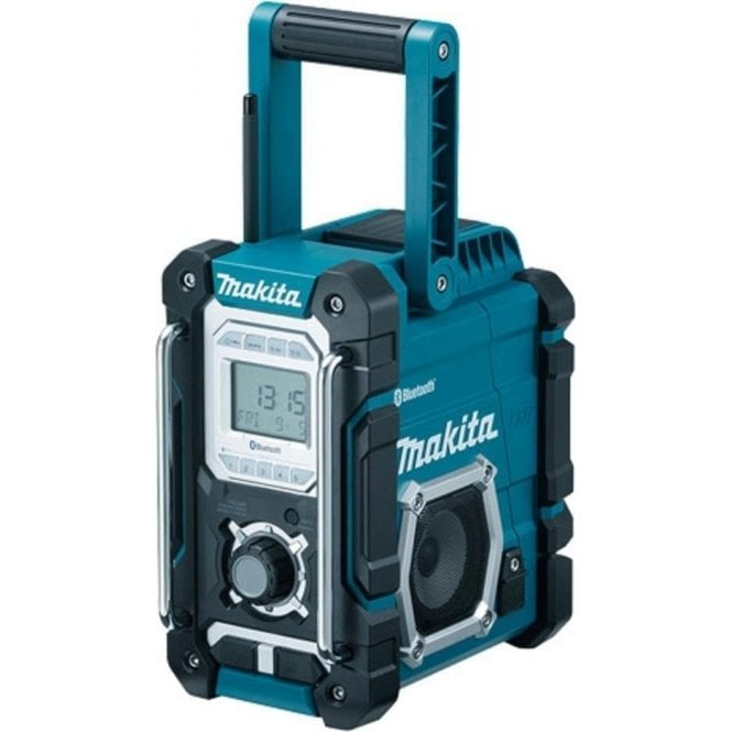 Makita DMR106 Blue Site Radio With Bluetooth & Mobile USB Charging Socket