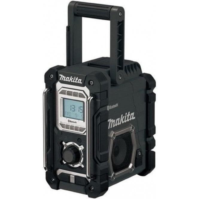 Makita DMR106B Black Site Radio with Bluetooth & Mobile USB Charging Socket