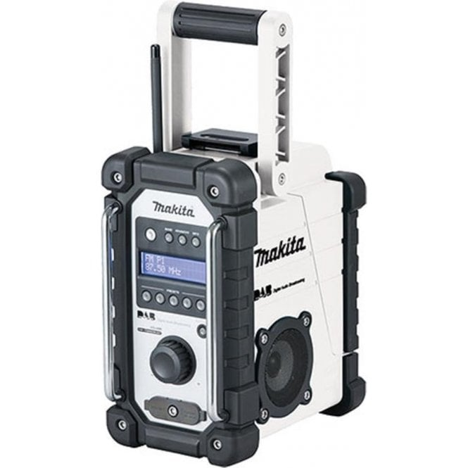 Makita DMR109W DAB FM Job Site Radio White
