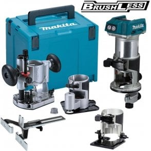 Makita DRT50ZJX3 18V Brushless Router Trimmer LXT