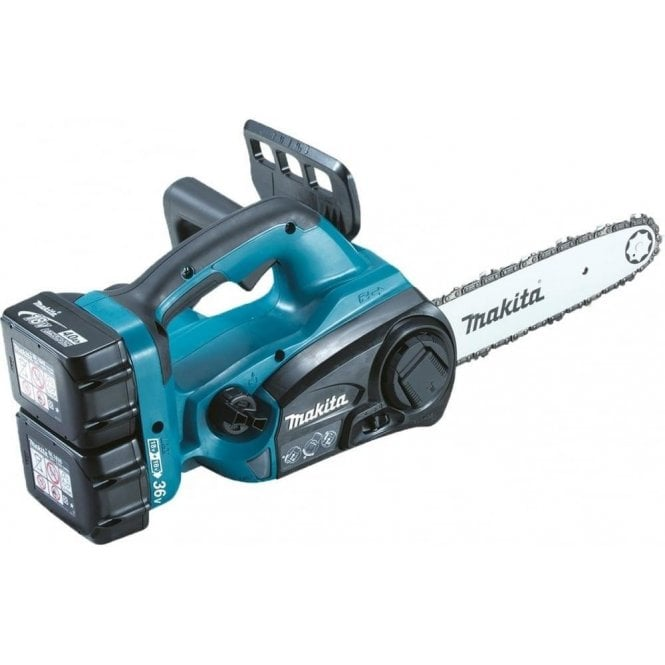 Makita DUC252Z Twin 18v Chainsaw 250mm LXT Body Only