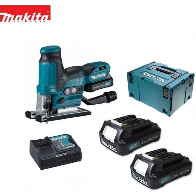 Makita JV102DSAJ Kit JV102D, 2 x BL1020B Batteries, DC10SA Charger & MakPac Type 3 Case