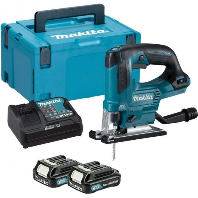 Makita JV103DSAJ Kit (Inc. JV103D, 2 x BL1020B Batteries. DC10SA Charger & MakPac Type 3 Case)
