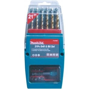 Makita P-57087 21 Piece Drill and Bit Set
