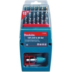 Makita P-57093 15 Piece Drill and Driver Set