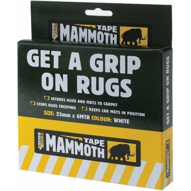 Mammoth Get A Grip on Rugs (Tape) 25mmx6m
