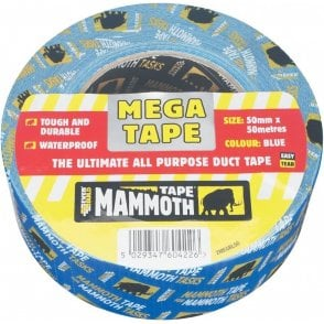 Mammoth Mega All Purpose Tape 50mmx50m Red