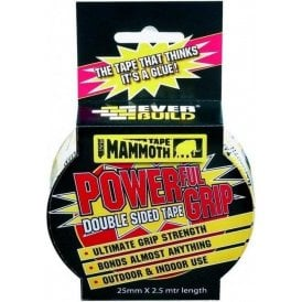 Mammoth Powerful Grip Tape 25mmx2.5m