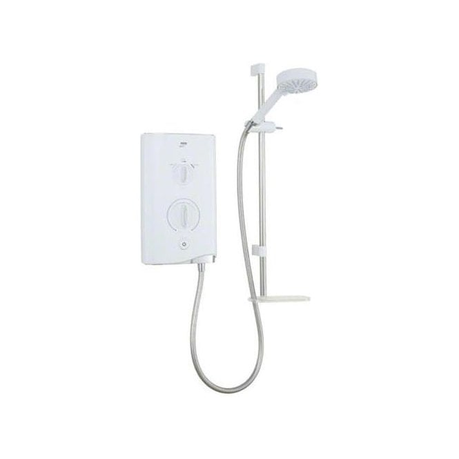 Mira Sport 9kW Electric Shower White/Chrome