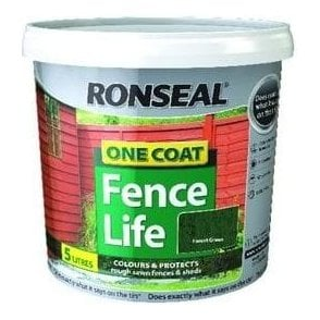 One Coat Fence Life 4L + 25% Extra FREE