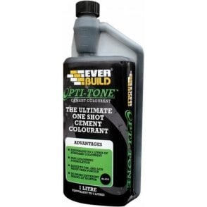 Opti-Mix Liquid Cement Colourant - Black 1L