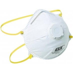 OX FFP1V Moulded Cup Respirator with Valve  (Pack of 2) S240702