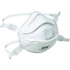 OX FFP3V Moulded Cup Respirator with Valve S241401