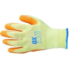 OX Latex Grip Glove Size 10 (Extra Large)