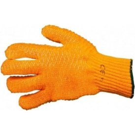 OX Orange Criss Cross Gloves
