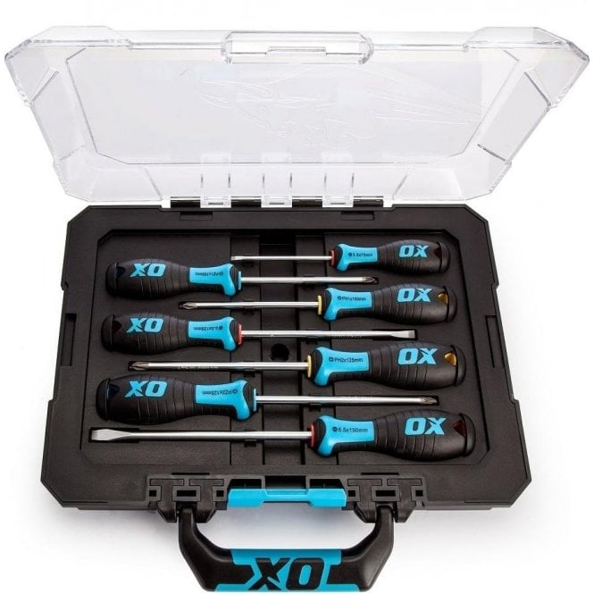 OX P-360207 Pro 7 Piece Screwdriver Set