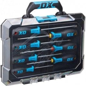 Ox Pro 7 Piece Screwdriver Set With Case OX-P360207