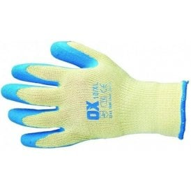 OX Pro Latex Grip Gloves Size 10 XL