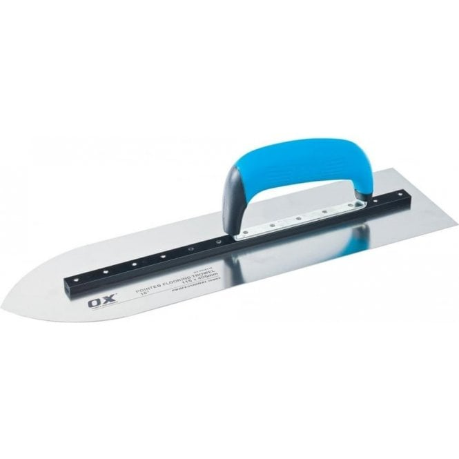 "Ox Pro Pointed Flooring Trowel - 16"" Ox-P018716"