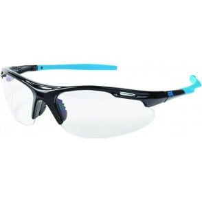 OX Professional Wrap Around Safety Glasses Clear S248101