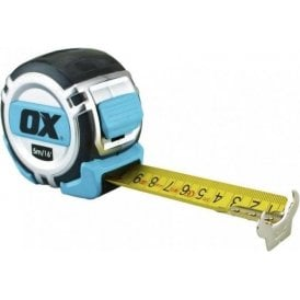Ox Tools OX-P028705 Pro Tape Measure Heavy Duty 5M / 16ft Metric and Imperial
