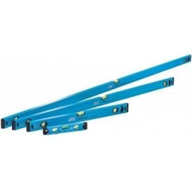 Ox Trade 4 Piece Level Set - 600mm 1200mm & 1800mm Trade Level and Trade 230mm Torpedo Level