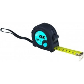 OX TRADE 5M TAPE MEASURE TWIN PACK