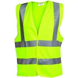 OX Yellow Hi Visibility Vest Large S242807