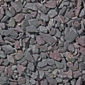 Plum Slate 20mm 25kg Bag