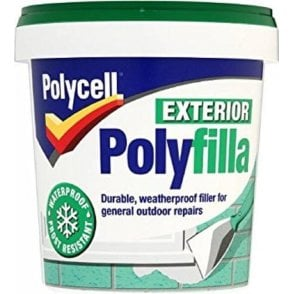 Polycell Exterior Polyfilla Ready Mixed 1 Kg Tub