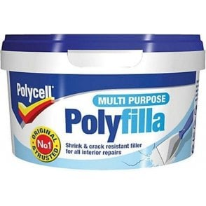 Polycell Multi Purpose Polyfilla Ready Mixed Tub 600g