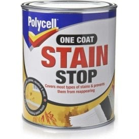 Polycell One Coat Stain Stop 1 Litre