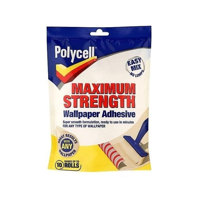 Polycell Polyfilla Max Strength Wallpaper Adhesive 10 Roll