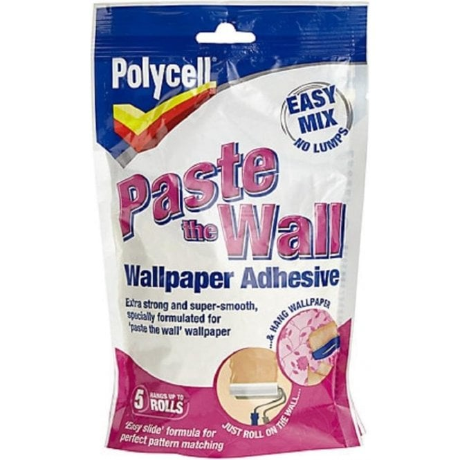 Polycell Polyfilla Paste The Wall Wallpaper Adhesive 5 Roll