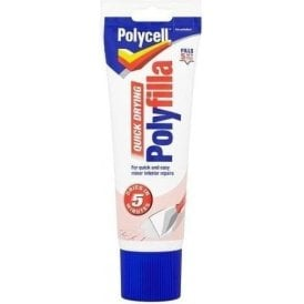 Polycell Quick Drying Multi Purpose Polyfilla 330g Tube
