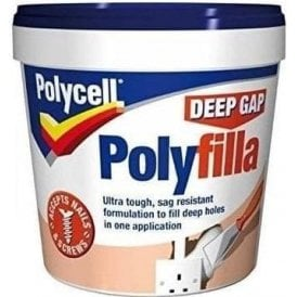 Polycell Ready Mixed Deep Gap Polyfilla 1 Litre