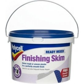 Polycell Ready Mixed Finishing Skim 2.5 Litre