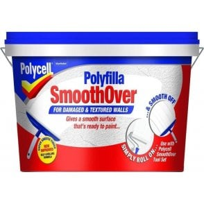 Polycell Smoothover for Damaged Textured Walls 2.5 Litre