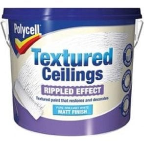 Polycell Textured Ceilings Ripple Effect Matt 2.5 Litre