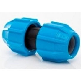 Polypipe Polyfast Straight Coupler 20mm Mdpe 40020
