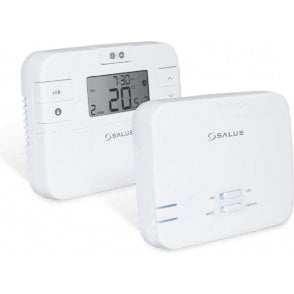 Salus RT510RF Wireless Programmable Room Thermostat with Receiver
