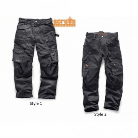 Scruffs 3D Pro Trouser Graphite/Dark Lead