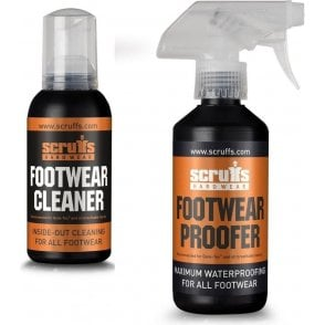 Scruffs Footwear Proofer & Cleaner Kit
