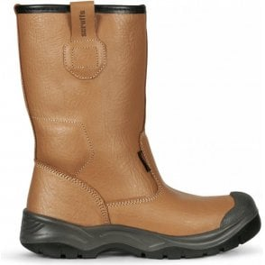 Scruffs Gravity Safety Rigger Boot Steel Toe Cap Tan