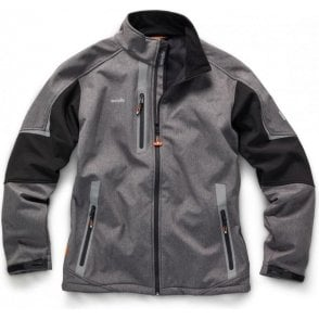 Scruffs Pro Softshell Jacket Charcoal