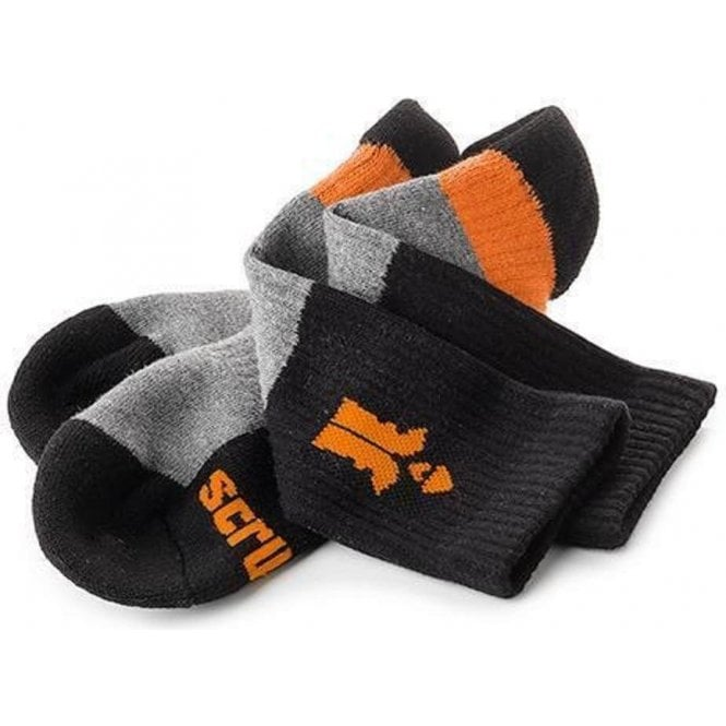 Scruffs Trade Worker Socks 3 Pack