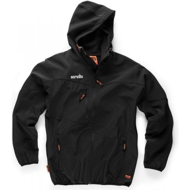 Scruffs Worker Softshell Jacket Black