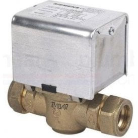 Siemens CZV228 2 Port Zone Valve 6 Wire 28mm