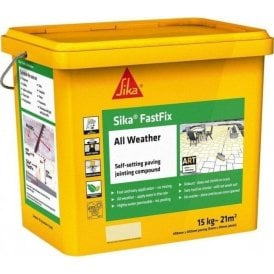 Sika FastFix All Weather Jointing Compound Buff 15kg
