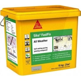 Sika FastFix All Weather Jointing Compound Grey 14kg